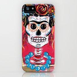 FRIDA Sugar Skull 2014 iPhone Case