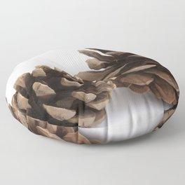 Two pinecones Floor Pillow