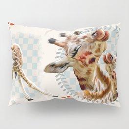 Hearty Giraffes Pillow Sham