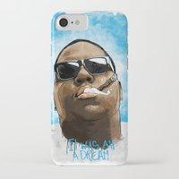 biggie iPhone & iPod Cases featuring Biggie by K▽nchʁLϟ