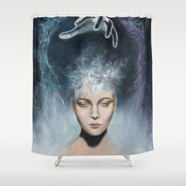 Divine Connection Shower Curtain