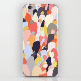 Crowded iPhone Skin