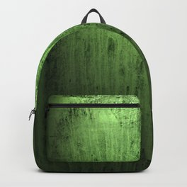Old green window at night Backpack