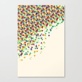 Suntan Funfetti 2 Canvas Print