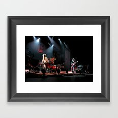 The White Stripes HOLD ME BACK SATAN Detroit  Framed Art Print