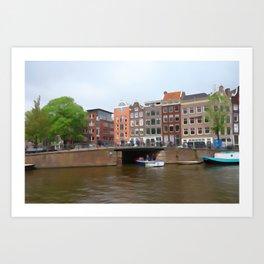 canal  Art Print
