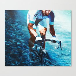 Blue wind of Flandres Canvas Print