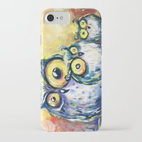 family iPhone & iPod Cases featuring family by Katja Main