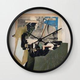 Partisanpaper 3 Wall Clock