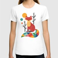 rainbow T-shirts featuring Rainbow Fox by Andy Westface