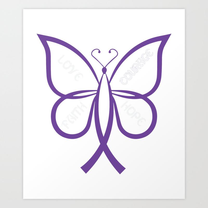 Lupus awareness butterfly Shirt Art