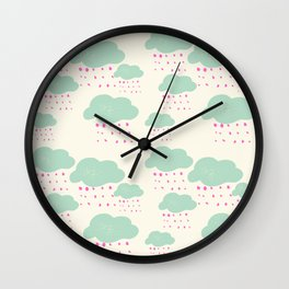 Cloud Formations Wall Clock