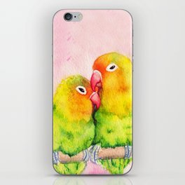 Lovebirds iPhone Skin
