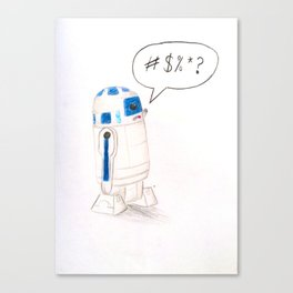 The Bad Robot Canvas Print