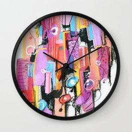 Vehemence Wall Clock