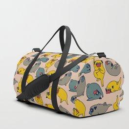Pugs Asanas Duffle Bag