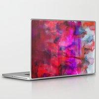 burgundy Laptop & iPad Skins featuring Burgundy by Georgiana Paraschiv