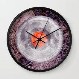LP Moon Over Lava Dance Floor Wall Clock