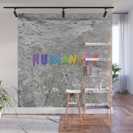 Humanity Paint Wall Mural
