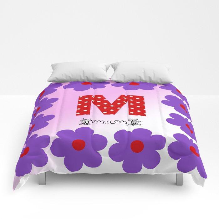 M = Mum Comforters