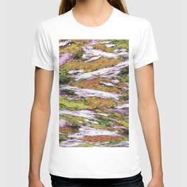 Falling through difficult layers T-shirt