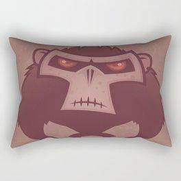 Angry Ape Rectangular Pillow