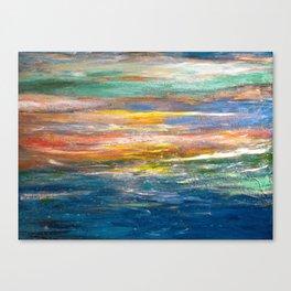 Carli's Beach View Canvas Print