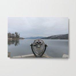 View Of Lake George NY Metal Print