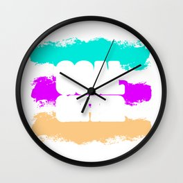 Funny Goal Getter Motivation Coach | Gift |  Wall Clock