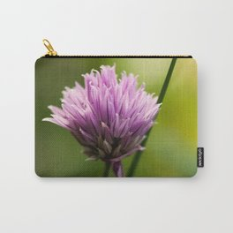Chive Bloom Carry-All Pouch