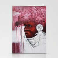 african Stationery Cards featuring African  by Sebastian Wandl