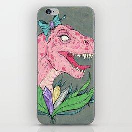 crystal dinosaur. iPhone Skin