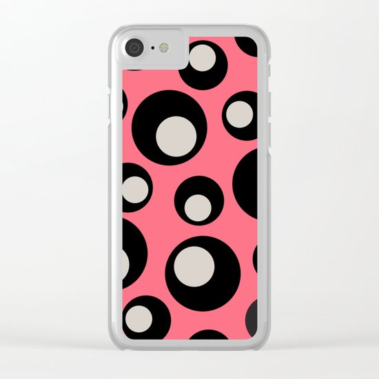 CIRCLES 23 Clear iPhone Case
