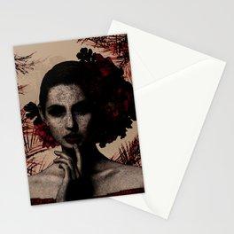 Scarlet Deception Stationery Cards