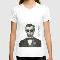lincoln T-shirts featuring Baberaham Lincoln by Taiter of the Tot