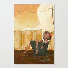 Pail Canvas Print