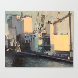 Brooklyn Navy Yard Canvas Print