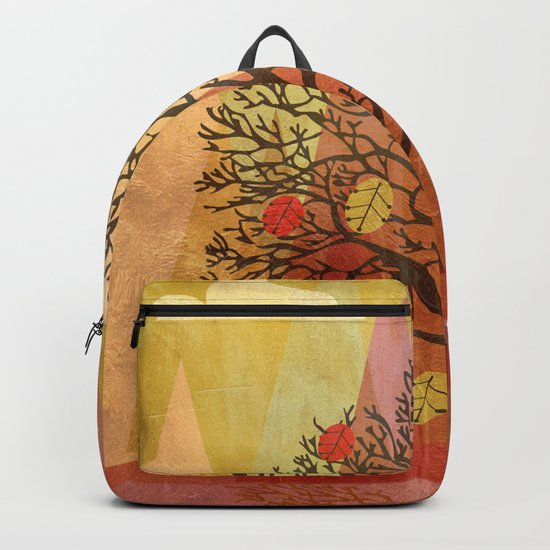 Autumn Tree Backpack