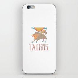 Taurus - earth sign iPhone Skin