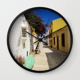 Colorful Spanish Island Wall Clock