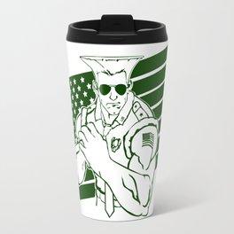 SFV GUILE Travel Mug