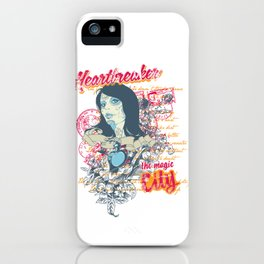 Heartbreaker The Magic City iPhone Case