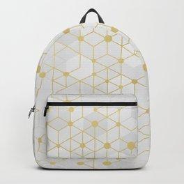 Deluxe Geometric Backpack