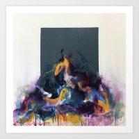 Overflowing Art Print