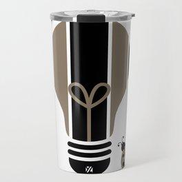 Charmer: Bright Idea Art Series  Travel Mug