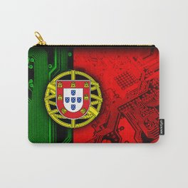 circuit board Portugal (Flag) Carry-All Pouch