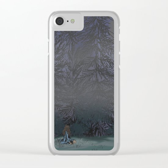 Broken Hearted Clear iPhone Case