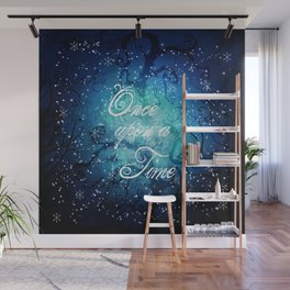 Once Upon A Time ~ Winter Snow Fairytale Forest Wall Mural