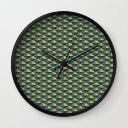 Inca Pattern Wall Clock