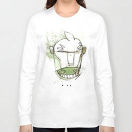 Coffee Face 01 Long Sleeve T-shirt